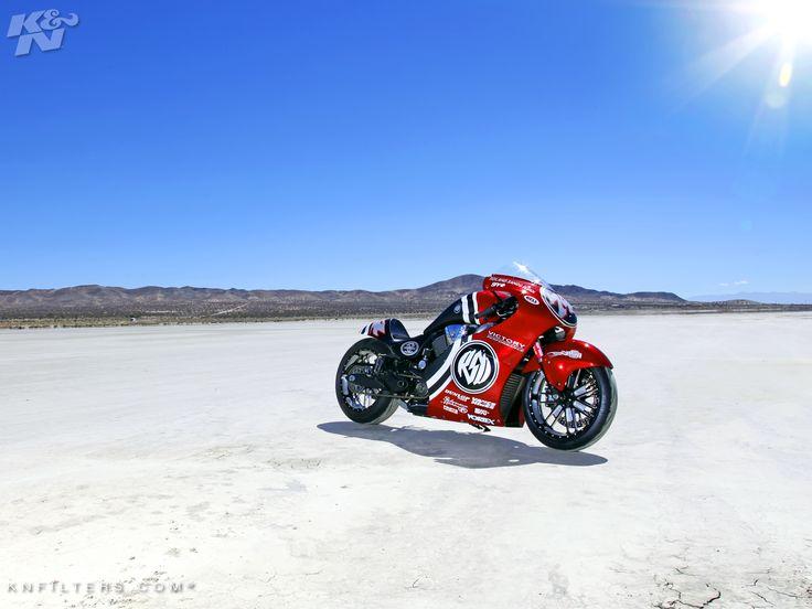 Roland Sands Design Victory 200  Motorrad Landgeschwindigkeit
