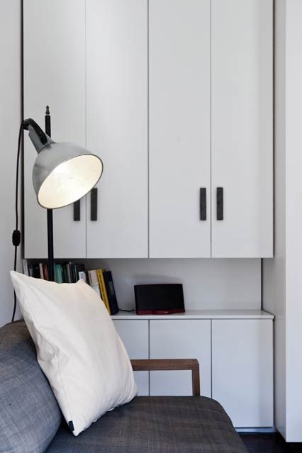 Built-In Storage - Interior Design Ideas for Small Spaces & Flats (houseandgarden.co.uk)