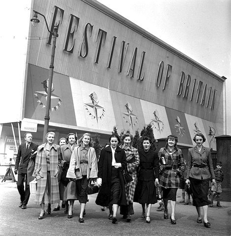 Festival of Britain 1951, fashion on rations tonic for the nation.