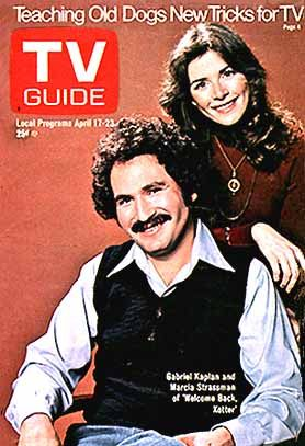 welcome back kotter tv guide | Welcome Back Kotter: TV Guide cover for April 1976 - Sitcoms Online ...