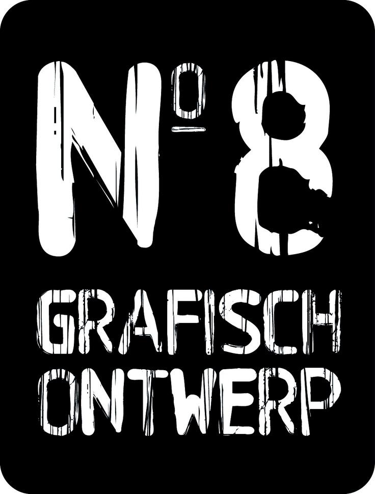 Logo Nummer Acht Grafisch Ontwerp copyright www.nummeracht.nl
