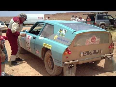 シトロエンのプロトタイプ・ラリーカーが素敵「Citroen SM Proto Bandama」バンダマ・ラリー仕様 | ラリー動画 Rally-M