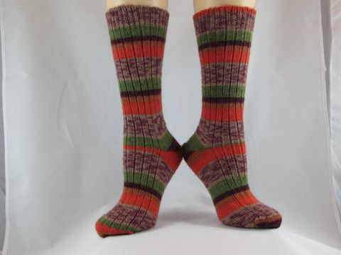 Autumn Harvest Hand Cranked Socks-Free Shipping