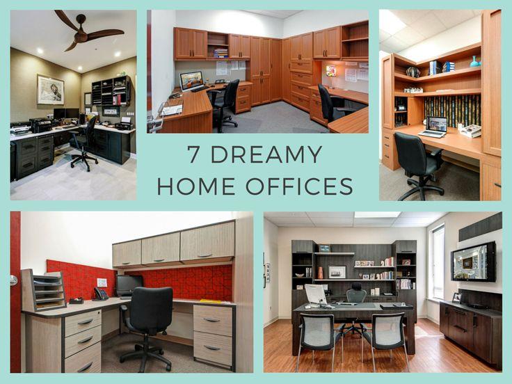 Summer Organization Inspiration: 7 Dreamy Home Offices. Closet WorksOffice  ...