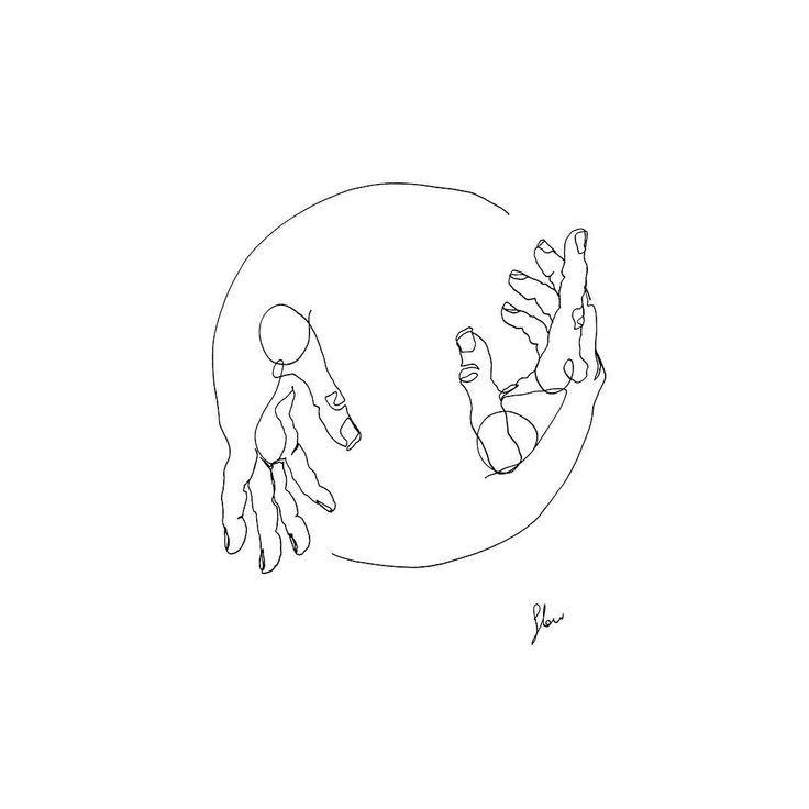 Artist verwendet einfache Strichzeichnungen, um die intimen Momente eines Pa – Emma Fisher
