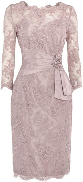 Love this: ANOUSKA G Corded Lace Dress with Embellishment @Lyst