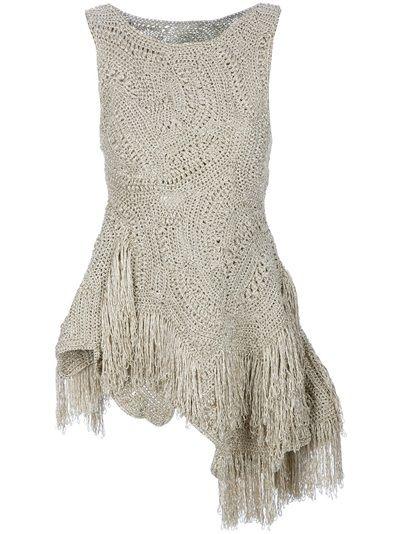 JOHN ROCHA Crochet Mini Dress
