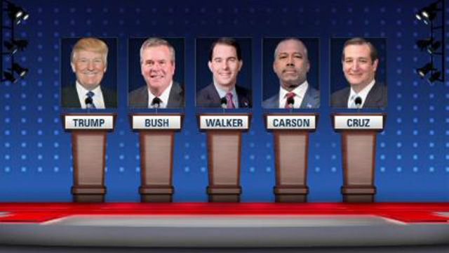 Donald Trump will play the lead role in the second Republican presidential debate tonight -- but his rivals are jockeying to steal his spotlight.