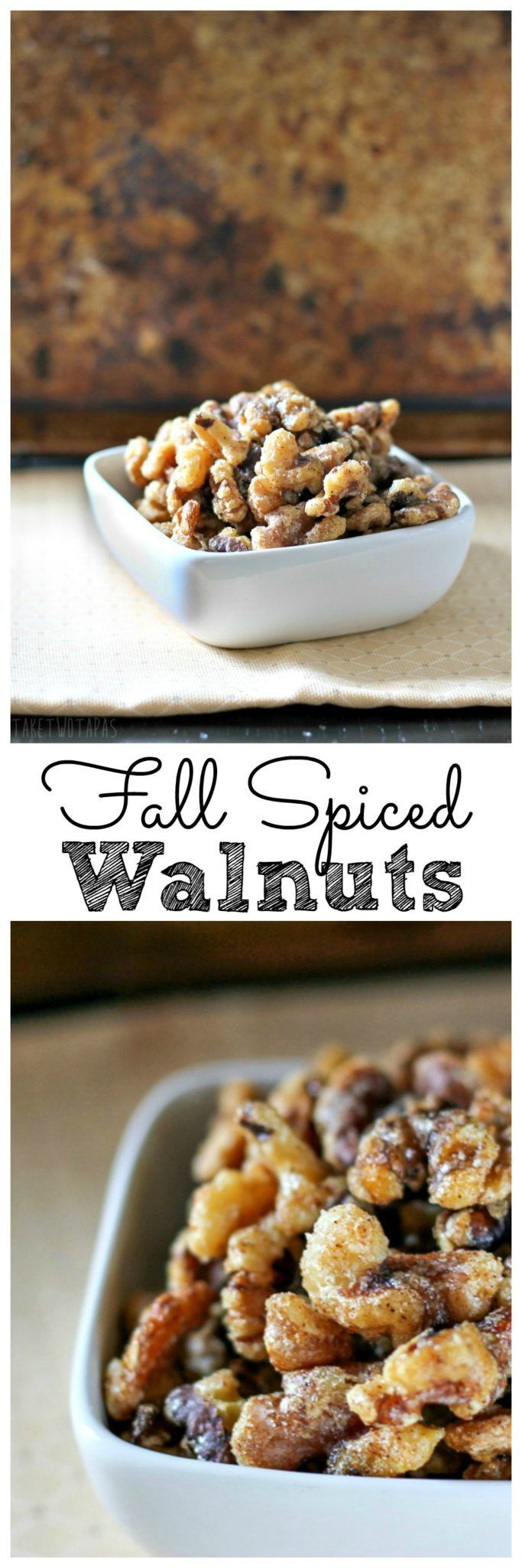 These crispy walnuts are toasted and covered with a light and crispy sugar…