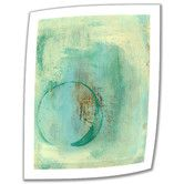 Found it at Wayfair - 'Teal Enso' by Elena Ray Photographic Print on Canvas Poster