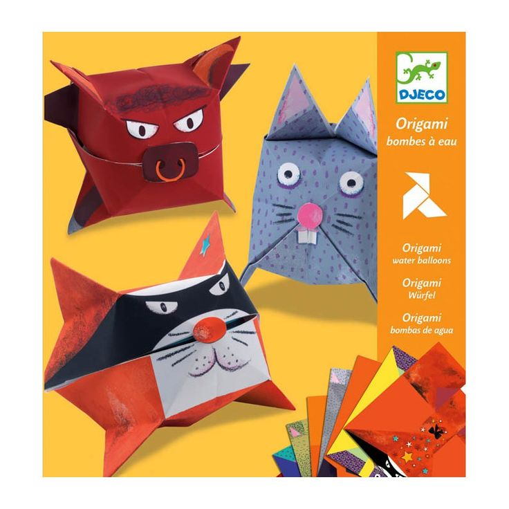 Djeco Origami Water Balloons  £4.50  Funny little animals to make and inflate!