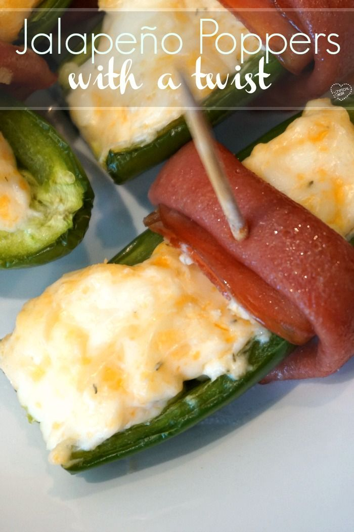 Here's the best baked jalapeno poppers recipe ever with an added twist that…