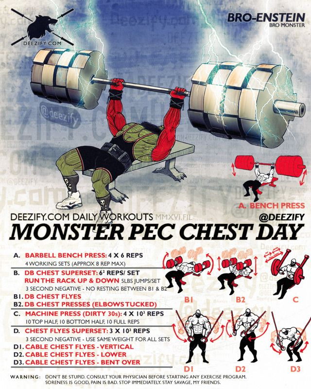 Monster Pec Chest Day - Increase Your Bench With This Chest Workout | Check out…