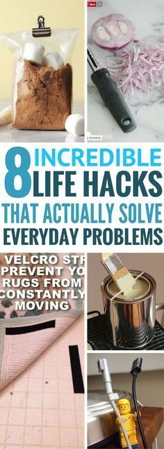 Amazing life hacks that show you how to make use of ordinary and everyday items! I tried all of them and they WORK really well!!