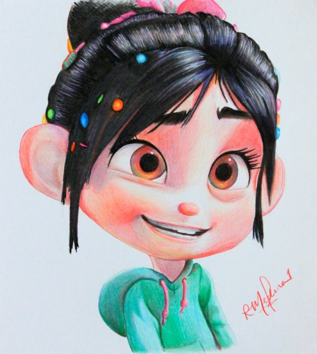 Images Of Vanellope Drawing Easy Rock Cafe