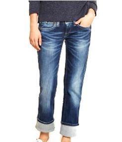 Original vaquero BANJI de Pepe Jeans. Pesquero, con efecto lavado y elástico