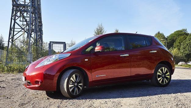 Nissan Leaf: päästöarvo nolla, vero nousee yli 60 prosenttia.