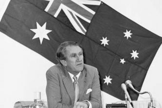 Malcolm Fraser and Australia's Asia consensus. Seen as his greatest contribution to foreign policy.