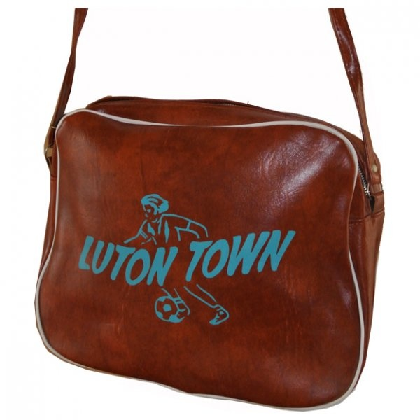 Luton Town FC unused 1970's vintage sports bag