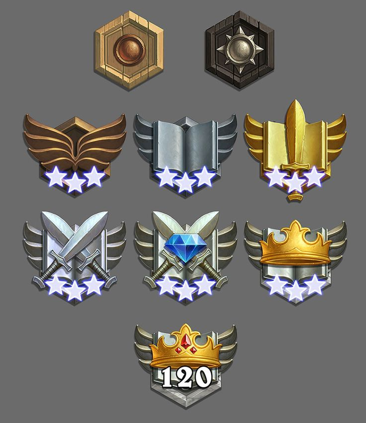 Medals - Characters & Art - Hearthstone: Heroes of Warcraft