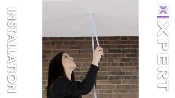 Measuring ceiling height to install your #xpole