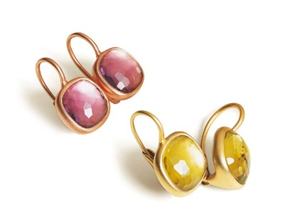 Pomellato Earrings from the Cipria Collection http://www.pomellato.it/