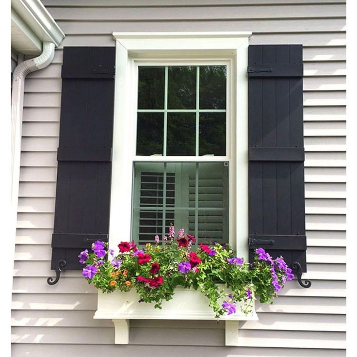 Ekena Millwork 14 in. x 63 in. Lifetime Vinyl Standard Four Board Joined Board and Batten Shutters Pair Forest Green - LJ4S14X06300FG - The Home Depot