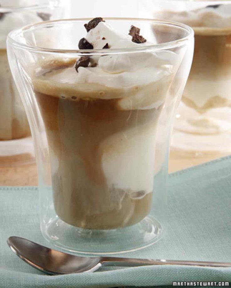 "The word affogato means ""drowned"" in Italian. Complete any meal wit..."