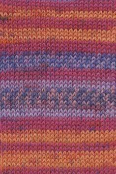 Lang Yarns Super Soxx Alpaca Superwash - 0056 Sunset Coral Indie