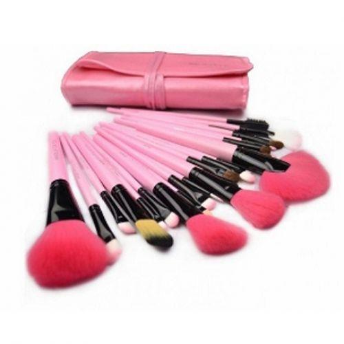Professional 24 Piece Makeup Brush Set With Case  - $22.00
