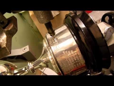 Pantograph Trophy Engraving - YouTube