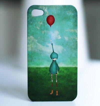 Ballongen - Iphone 4 fodral