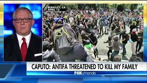Former Trump campaign advisor Michael Caputo weighed in on the violent anti-Trump group ANTIFA, who he said threatened to murder his family.