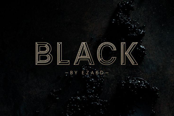 Round – Black by Ezard