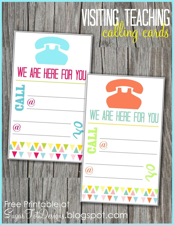 VTing phone number cards