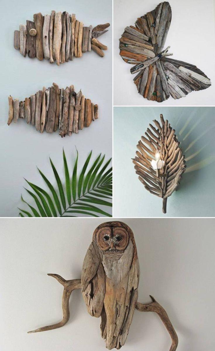 kendin yap, driftwood, tahta hayvan figürleri