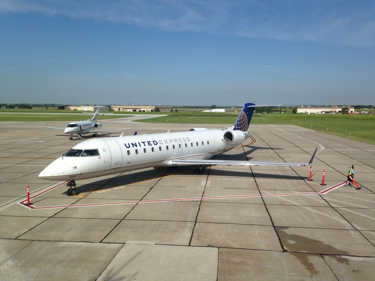 Fly United Express when you fly out of The Hays Regional Airport!