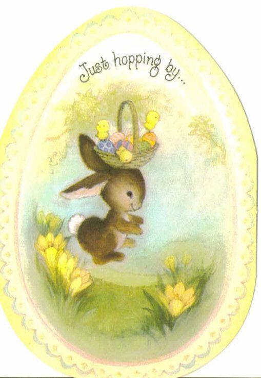 126 best images about Happy Easter vintage – Hallmark Easter Cards