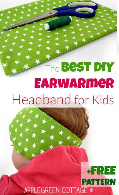 This perfect headband pdf pattern will add a pop of color to your kids' fall wardrobe AND let them stay WARM outdoors this fall. The best earwarmer headband tutorial and 8-size PDF sewing pattern. The smallest 3 sizes (baby to 1 year) are free to download for email subscribers.