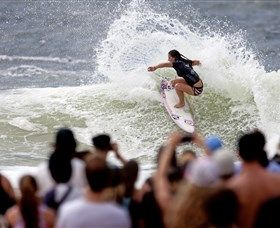 Quiksilver and Roxy Pro Gold Coast is on 1 - 12 March in Coolangatta, Queensland