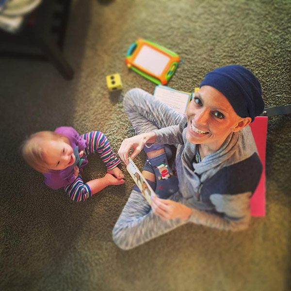 Joey Feek Is 'Out of Bed' and Bonding with Her Daughter After Grammy Nod, Writes Husband http://www.people.com/article/joey-feek-teaching-daughter-facebook-photo