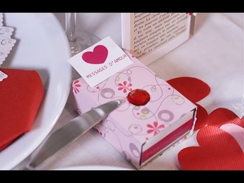 #DIY Saint-Valentin : Boîte à messages d'#amour #Valentinesday