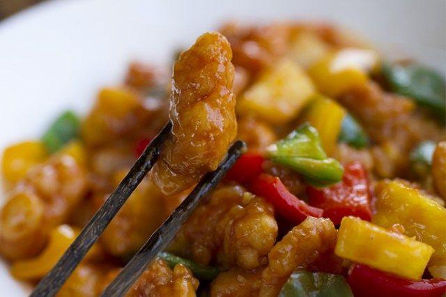Pollo Agridulce, salsa agridulce, comida china, cocina china, cocina asiática