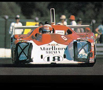 1975 Le Mans- SIGMA MC75.