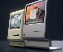 CURVED labs Concept Tribute To Apples First Macintosh 1