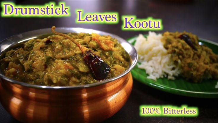 Drumstick Leaves Kootu | Murungai Keerai Kootu | 100% Bitterless ( TIP )