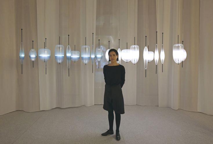 Tre nuovi progetti e una nuova versione in bianco di Flow(t) di Tao Namura (foto in alto). Wonderglass celebra il suo primo anno e presenta per il Fuorisalone la collezione 2014 all'Istituto dei Ciechi di via Vivaio.