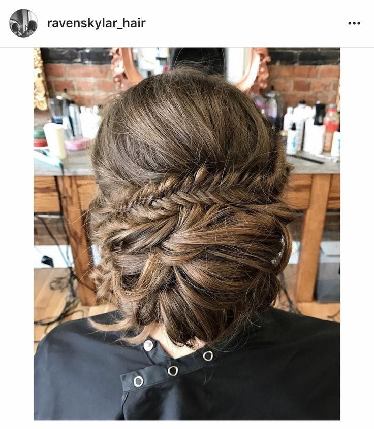 #updo #gradhair #weddinghair #braids