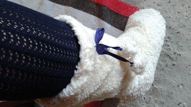 Warme voeten in de winter - maak deze pantoffel zelf!