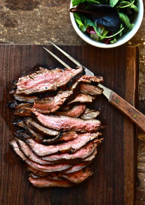 hawaiian marinated flank steak